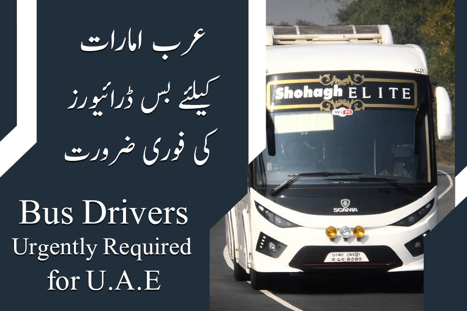 UAE Heavy Bus Drivers Jobs