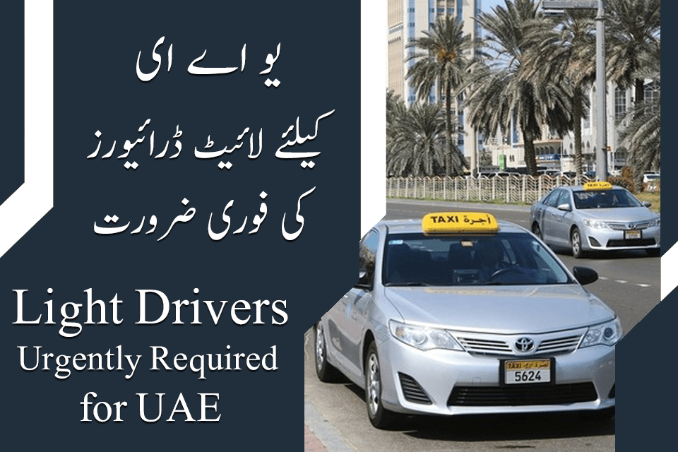 UAE Light Driver Jobs