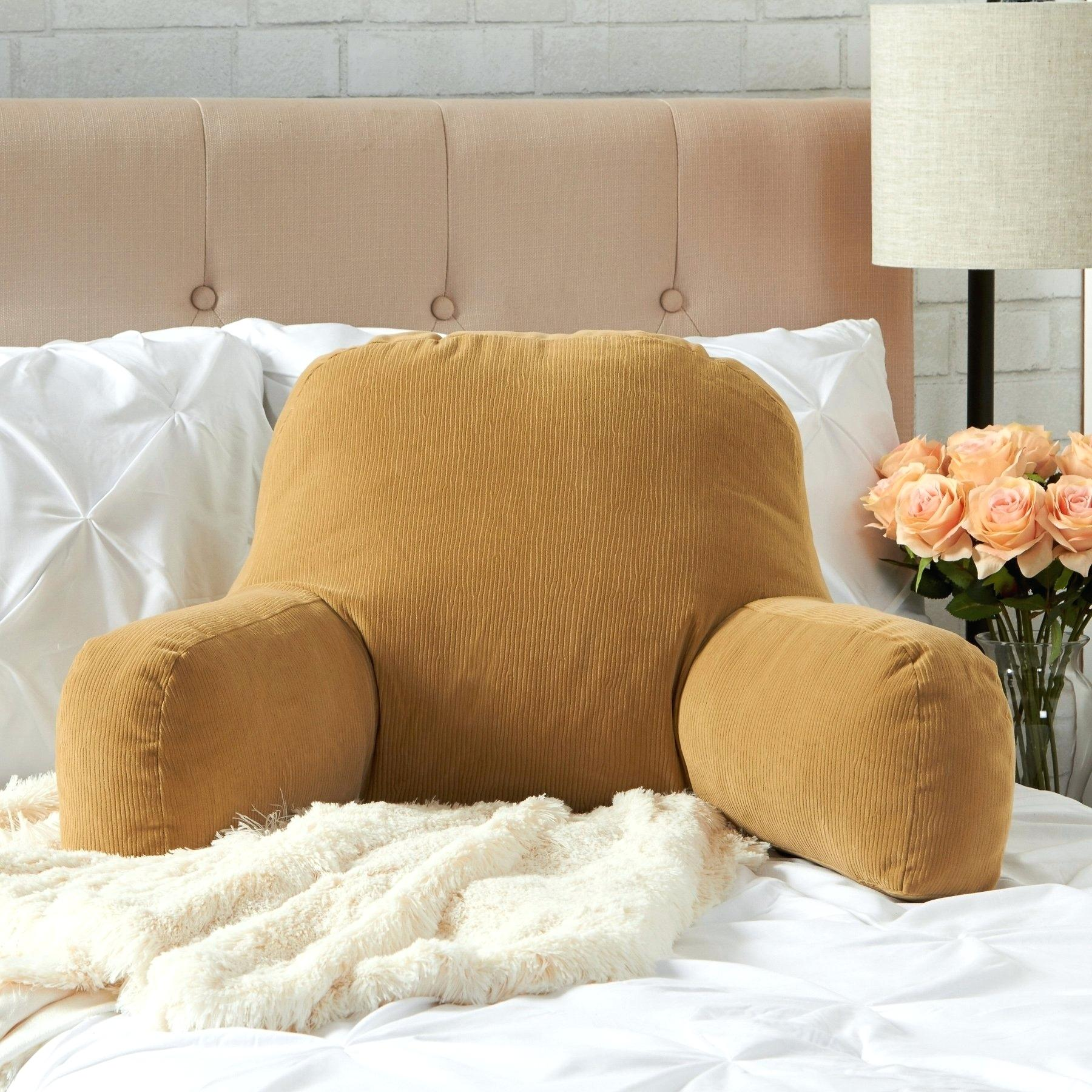 orange backrest pillow online