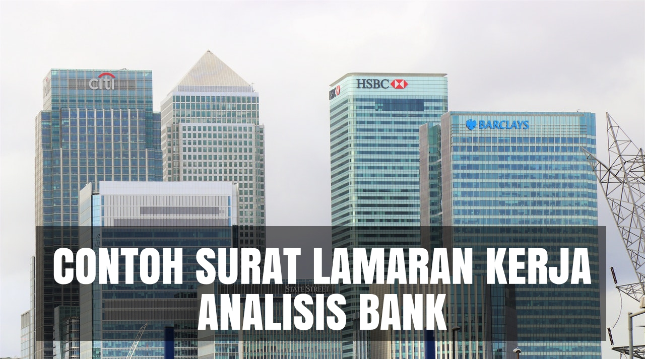 contoh cover letter analisis bank