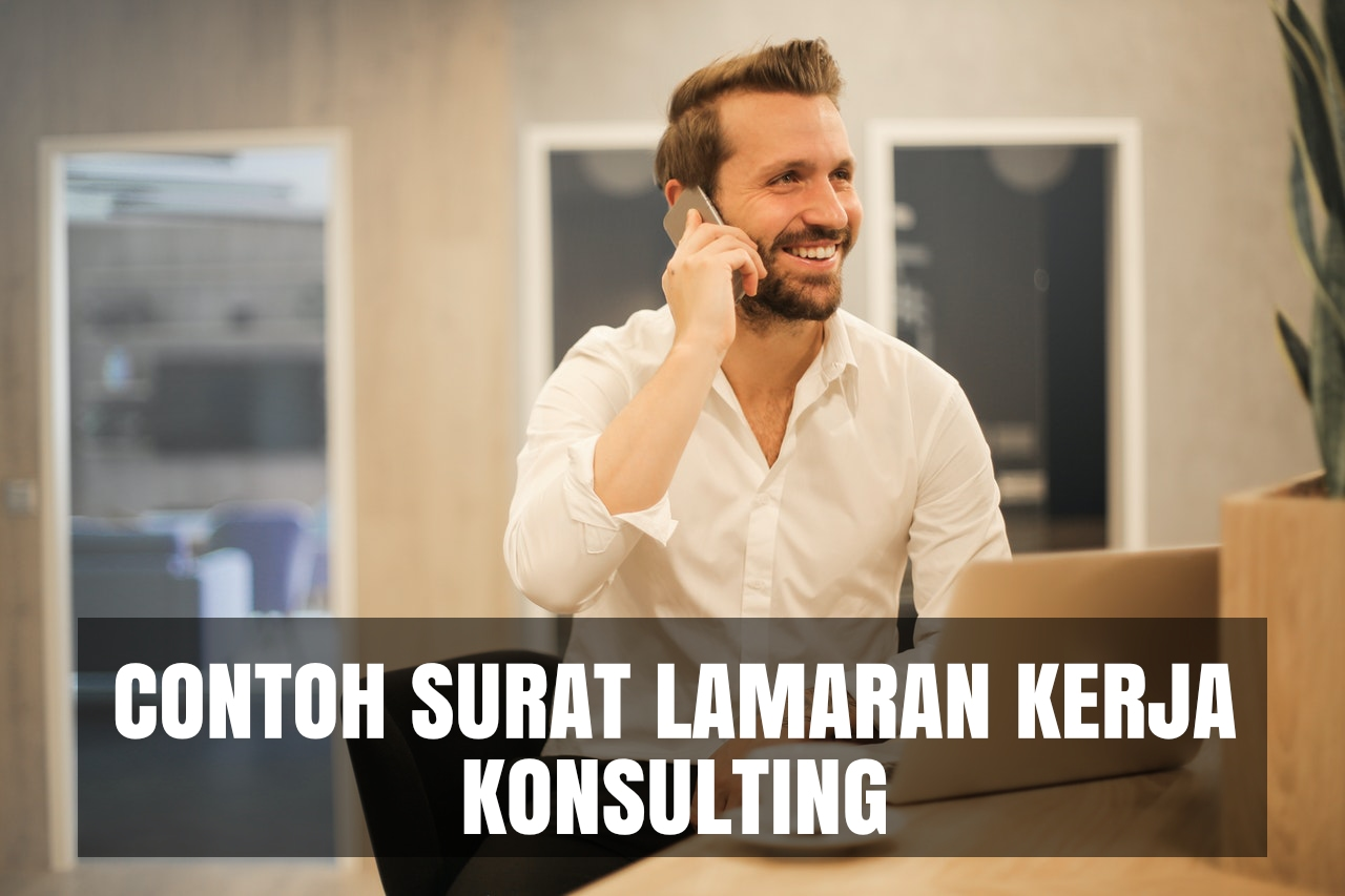 contoh cover letter konsulting