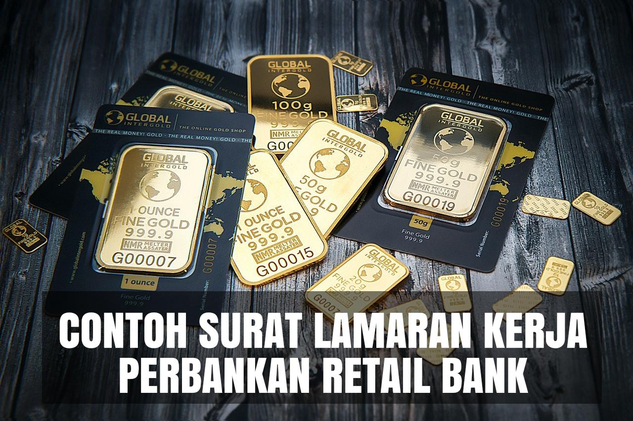 contoh cover letter perbankan retail bank