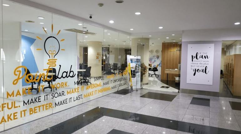 point lab coworking space di bandung