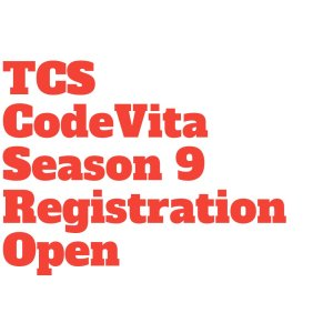 TCS CodeVita 2020 Season 9