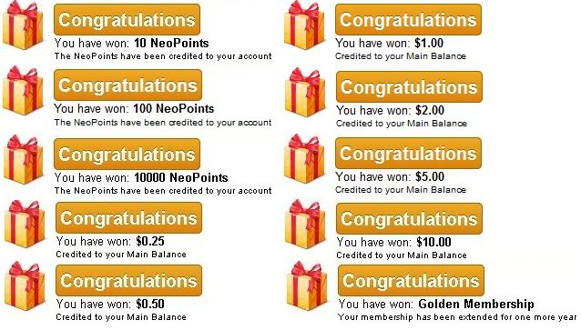 Play AdPrizes and Win Golden membership