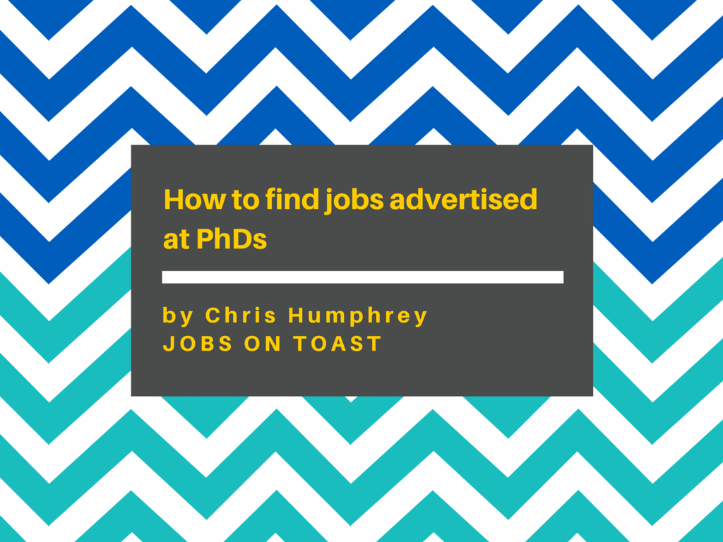 PhD jobs | Jobs on Toast