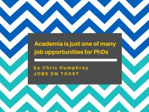 Featured image for article: 'Academia is just one of many job opportunities for PhDs'