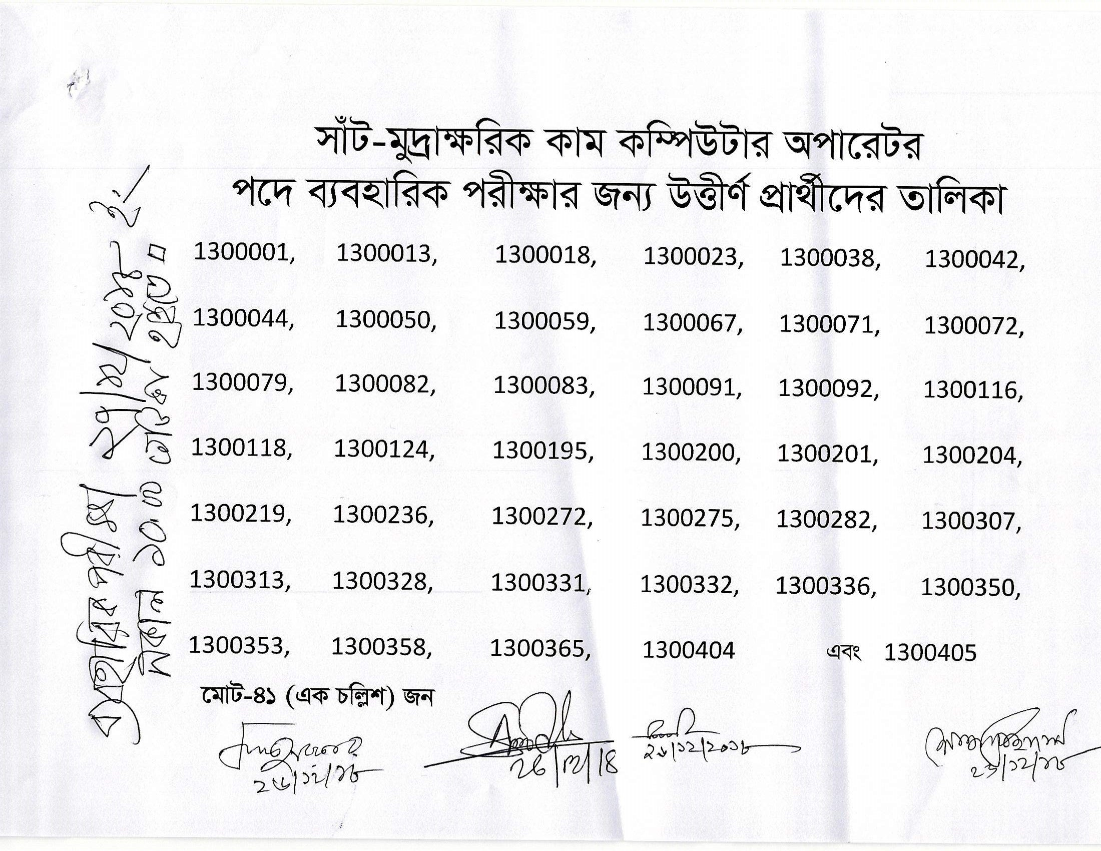Taxes Zone Gazipur TZG Exam Result Admit Exam Date 2019 4