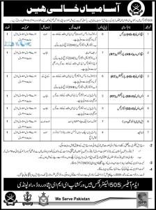 Pak Army Civilian Jobs 2016 Latest Advertisement