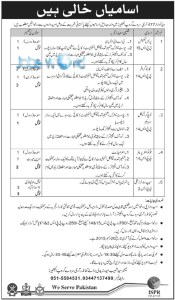 pak army civilian jobs 206 advertisement