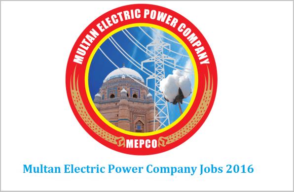 MEPCO Jobs 2016