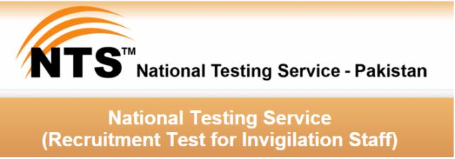 NTS Invigilator Jobs 2016 Test Syllabus & Course Format