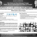 Punjab Police Safe Cities Jobs 2016 PPIC3 385 Vacancies