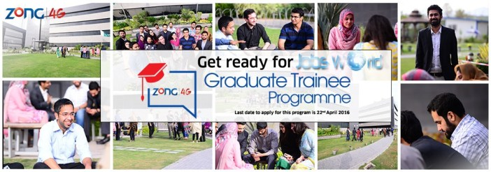 Zong Graduate Trainee Program 2016 Online Registration