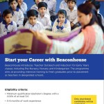Beaconhouse Trainee Teacher Jobs 2016 Permanent Posts