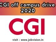 CGI Off Campus Drive