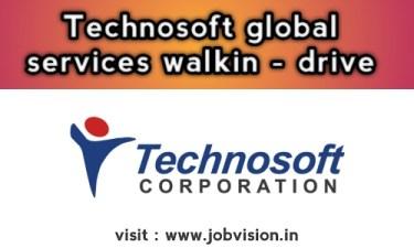 Technosoft Global Chennai Walkins | Trainee Software Engineer