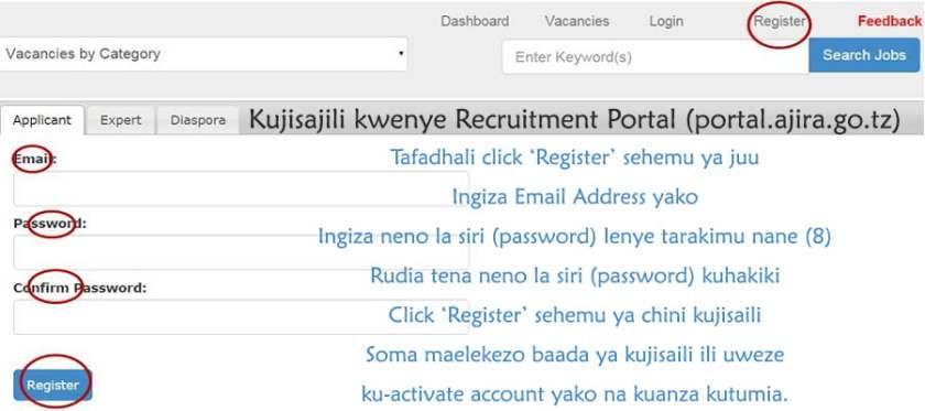 Ajira Portal Recruitment System