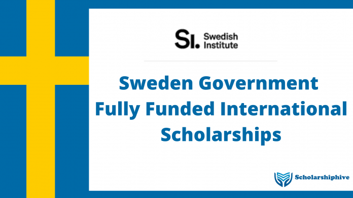 Sweden Government Fully Funded International Scholarships