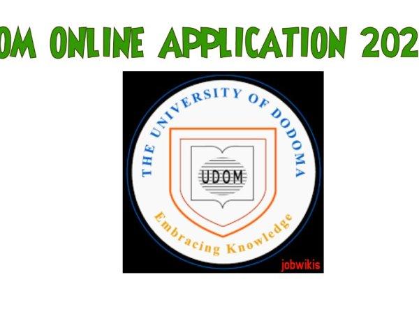 udom admission 2021/2022, udom online application 2021/2022, UDOM online application, UDOM Online Registration system.