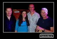 with the Tom Monahan Band