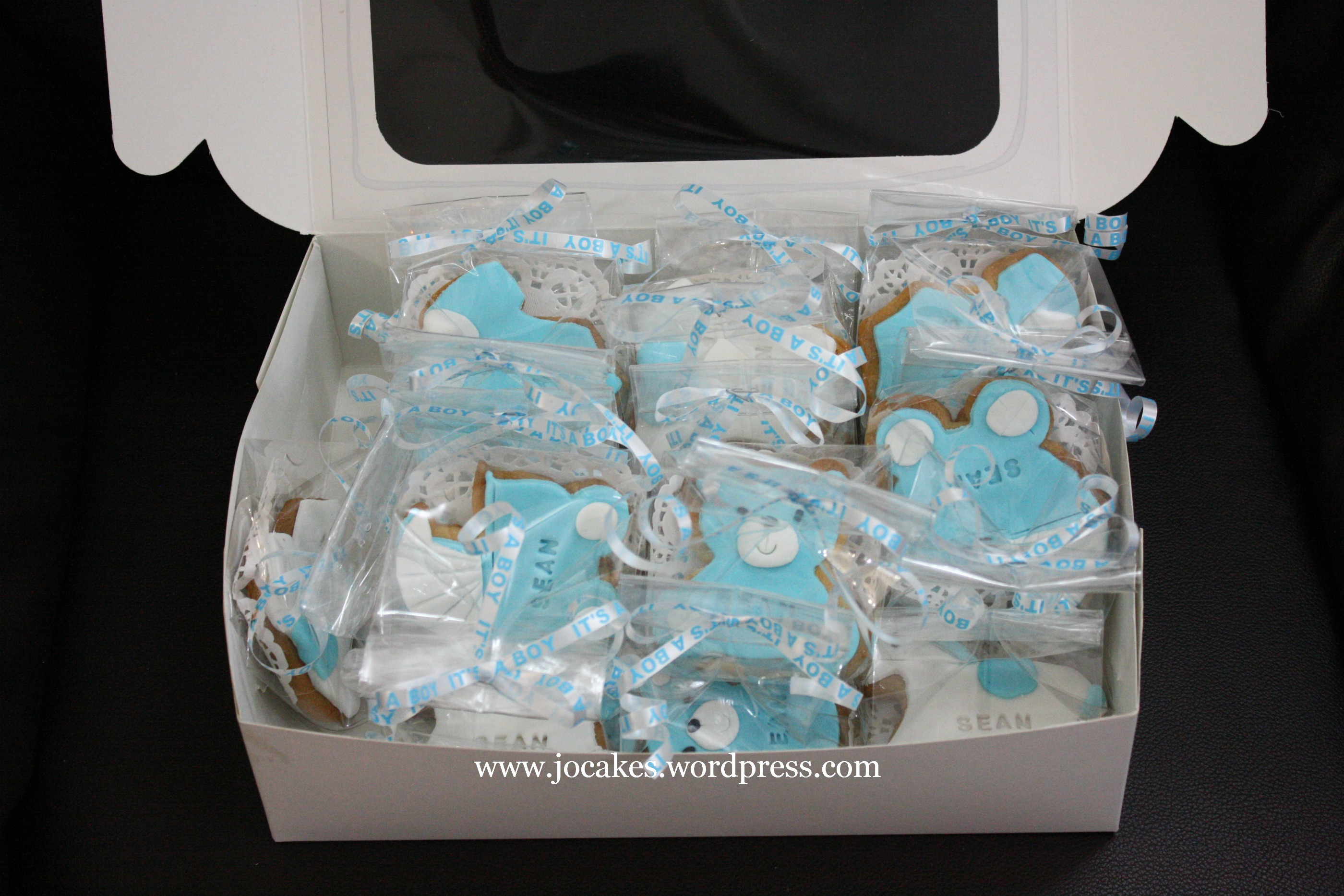 Decorated Cookies For Baby Fullmoon Jocakes
