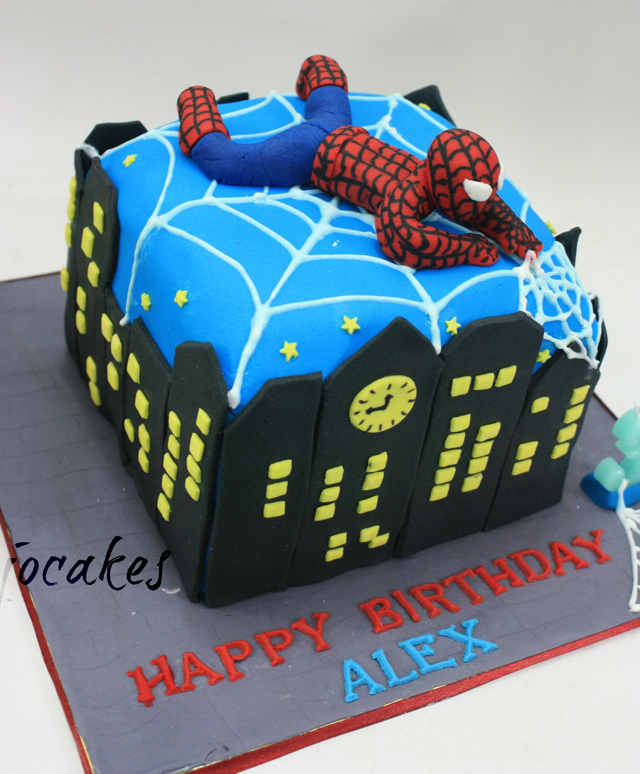 Spiderman Cake Jocakes
