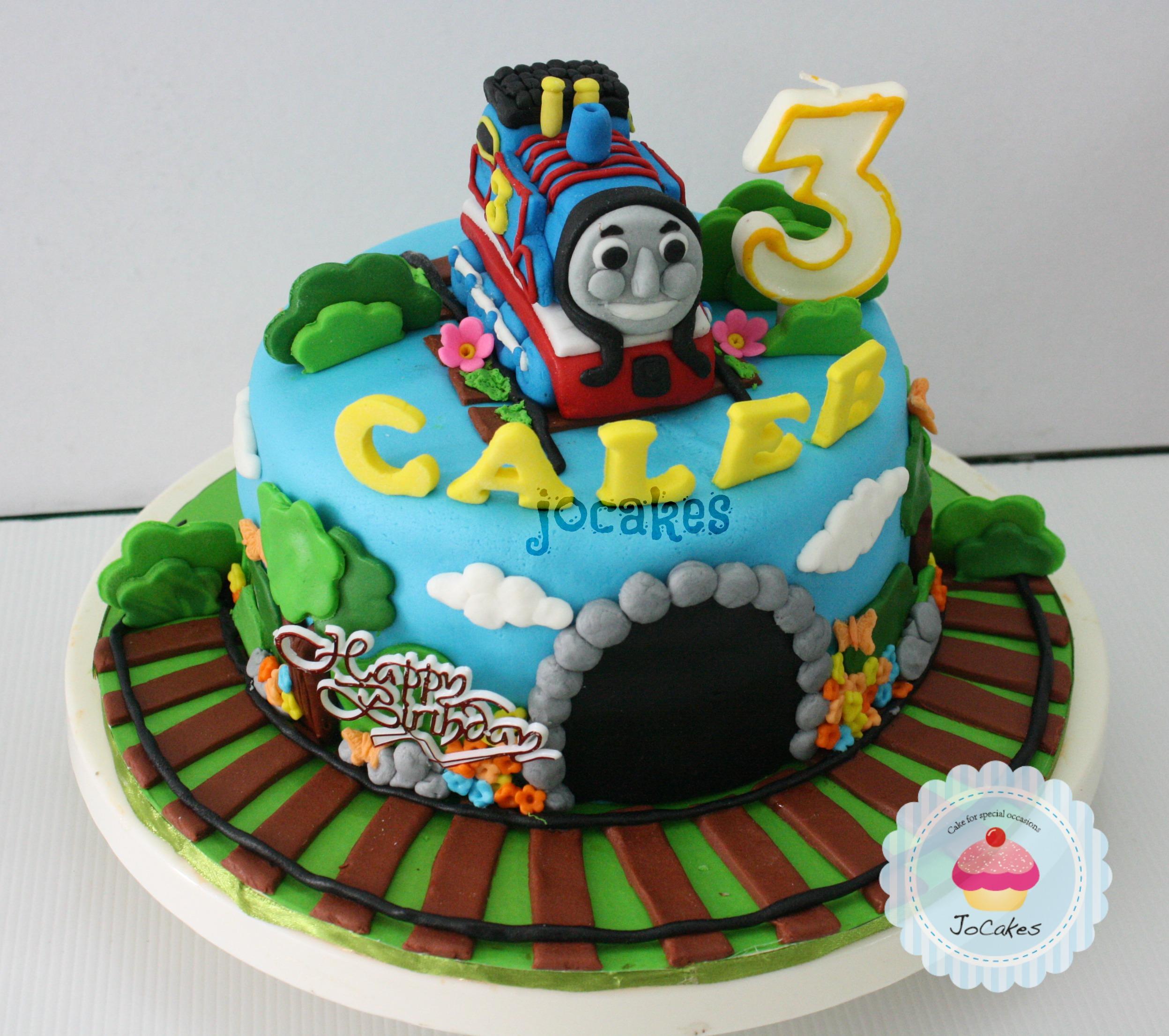 Thomas The Train Cake For Caleb Jocakes
