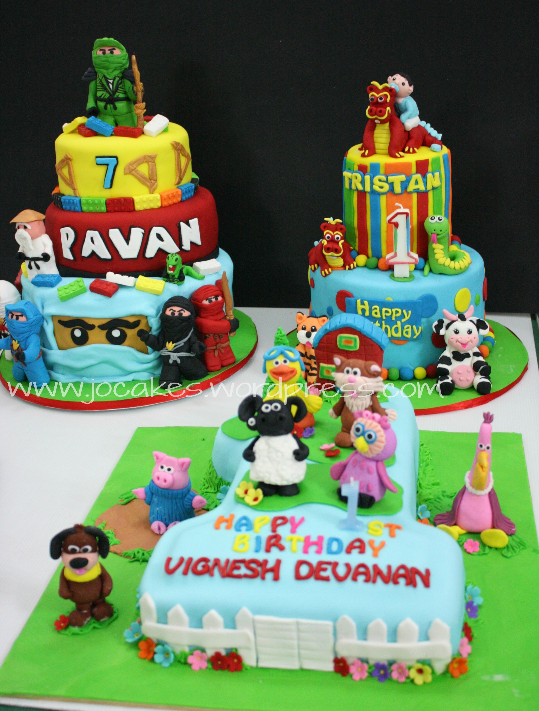 Lego Ninjago Cake Jocakes