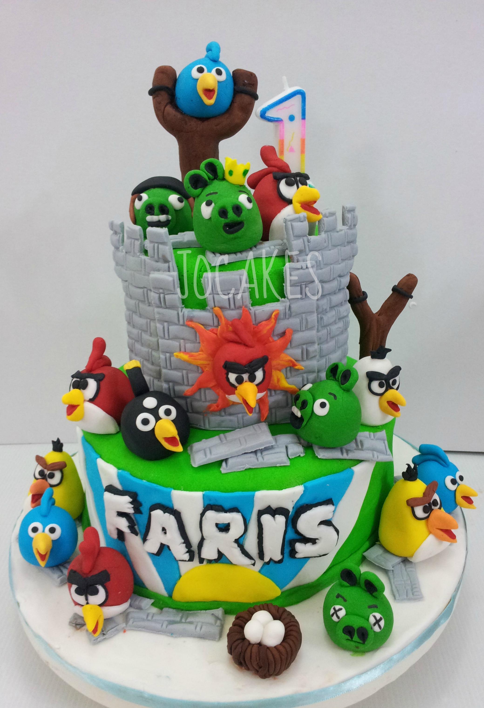 Angry Bird Cakes Cupcakes Jocakes