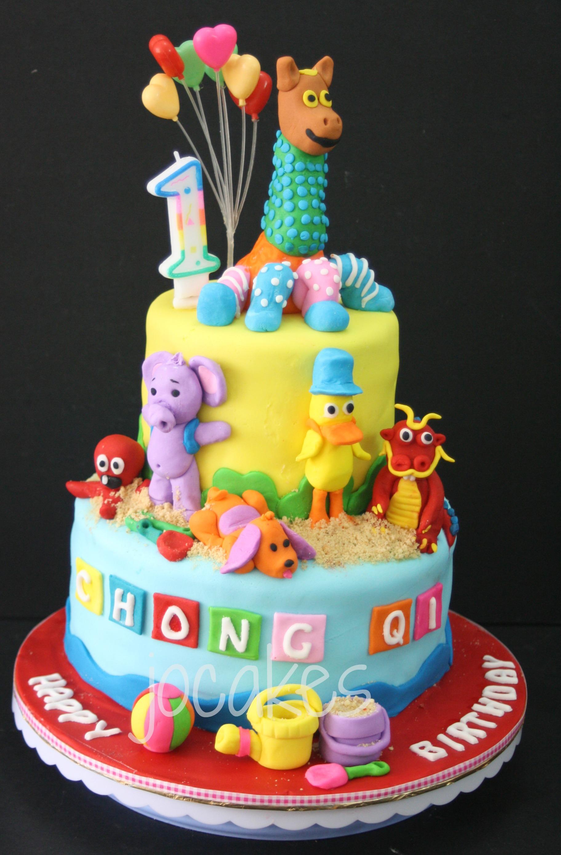 Dragon Cake Jocakes