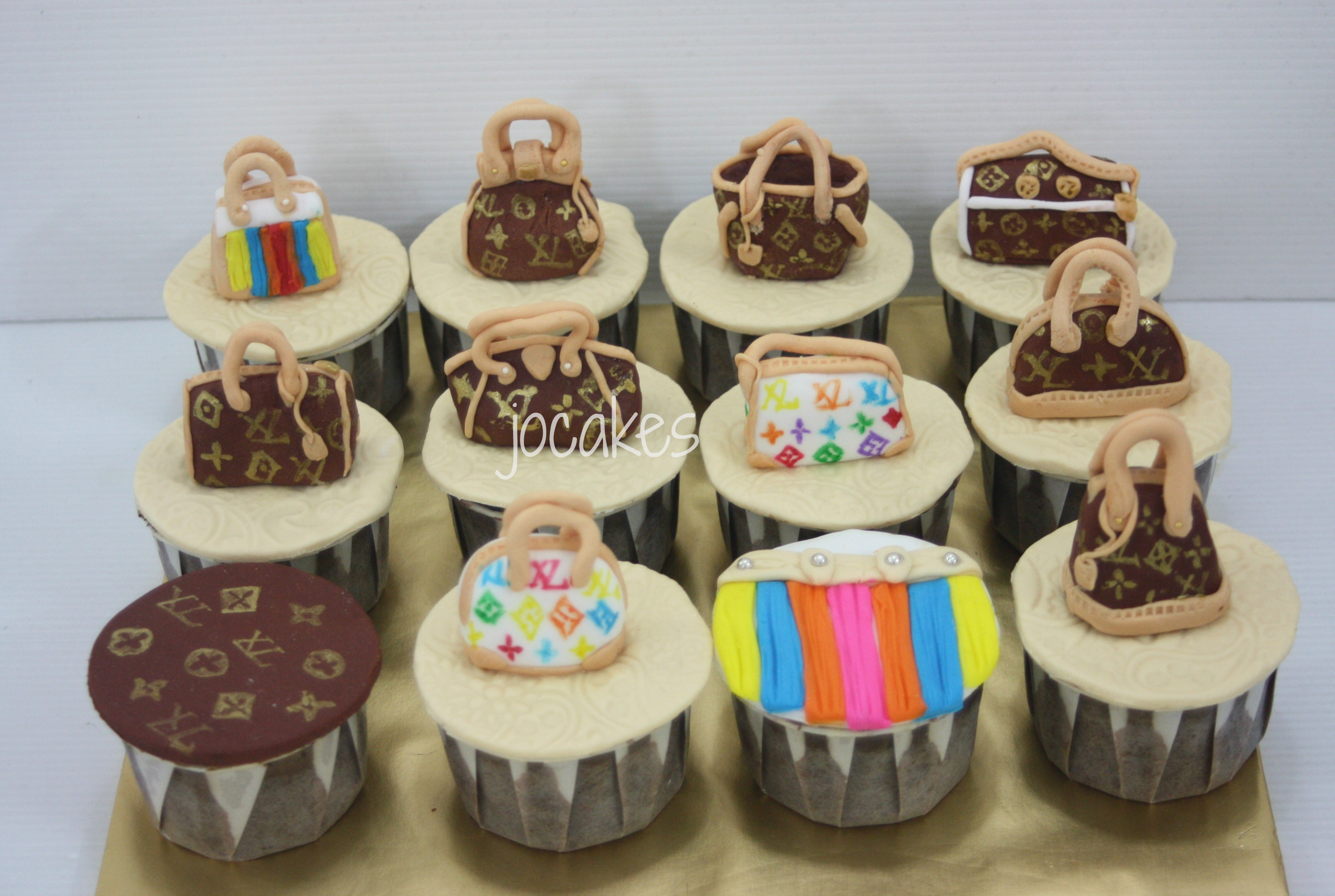 Branded Logo Cupcakes Jocakes