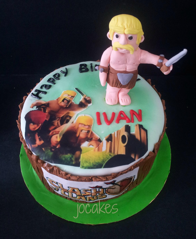 Clash Of Clans Cake For Ivan 21st Birthday Jocakes