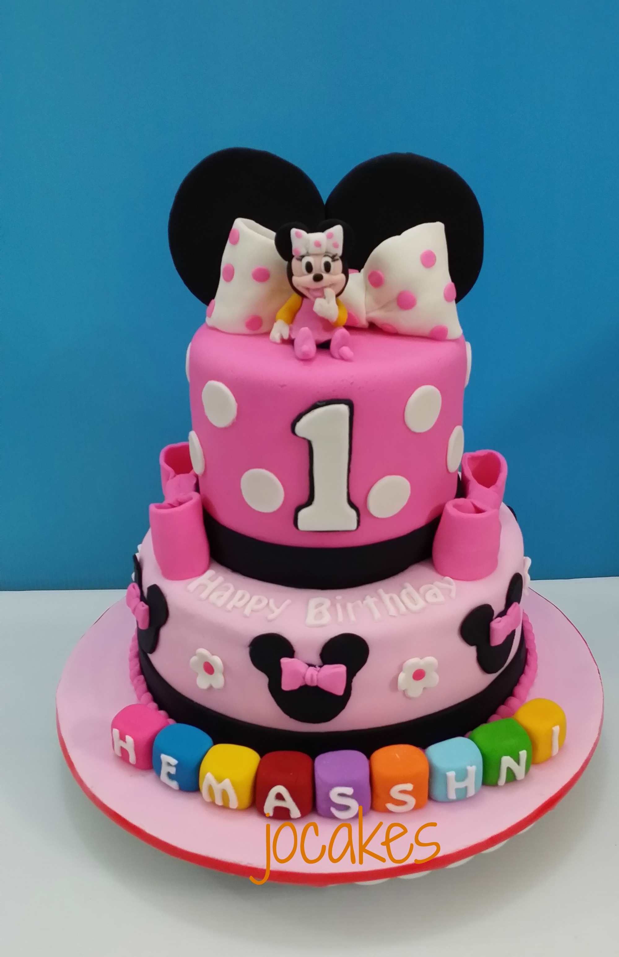 Cake Minnie Mouse Birthday Cakes For 1 Year Old