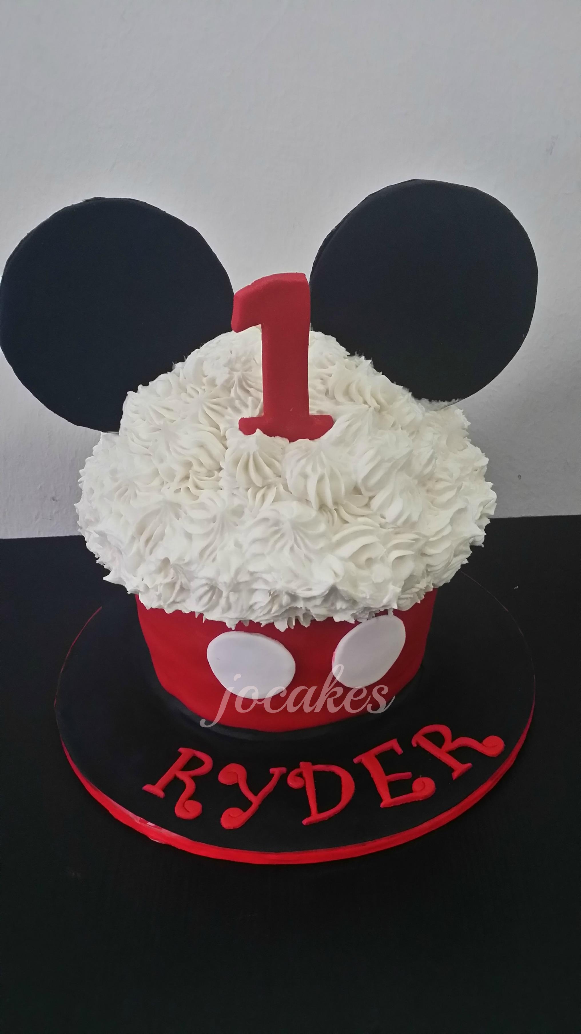 Mickey And Minnie Mouse Cake Jocakes
