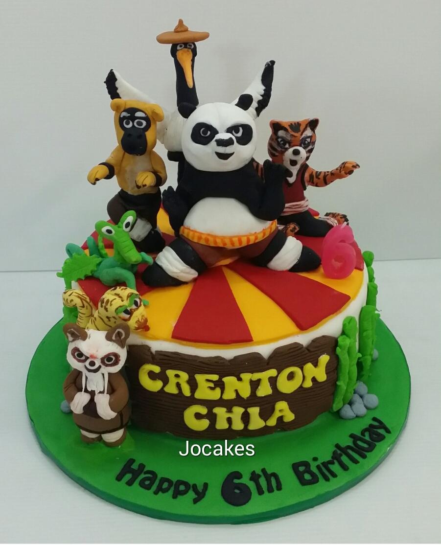 Kung Fu Panda Cake Jocakes