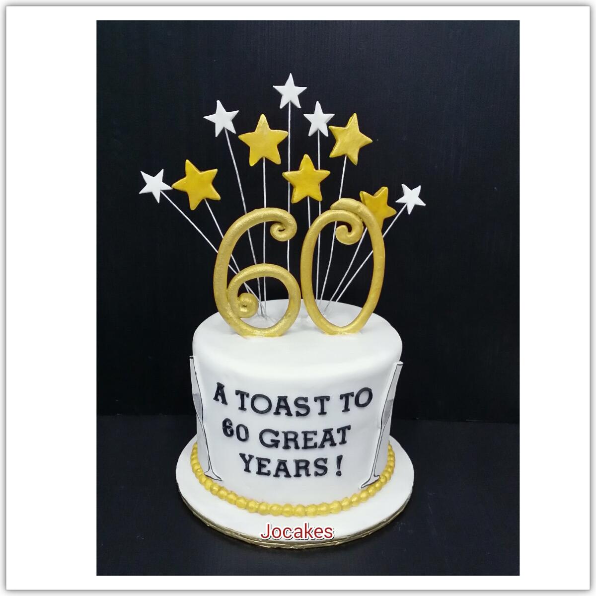 80th Birthday Cake Jocakes