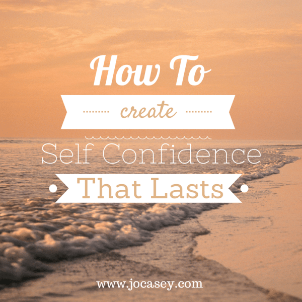 self confidence that lasts