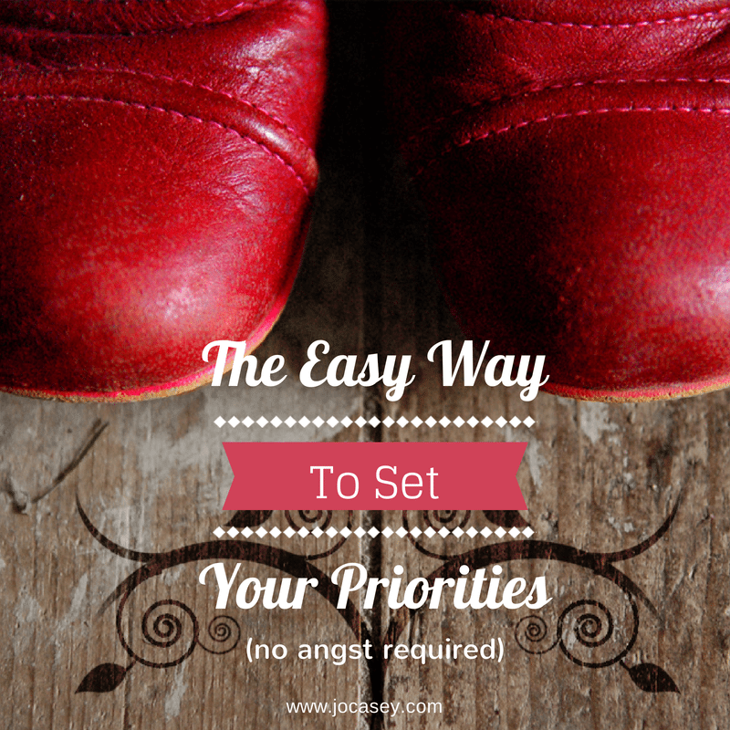 The Easy Way to set your priorities