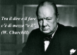 Citazione di Wiston Churchill