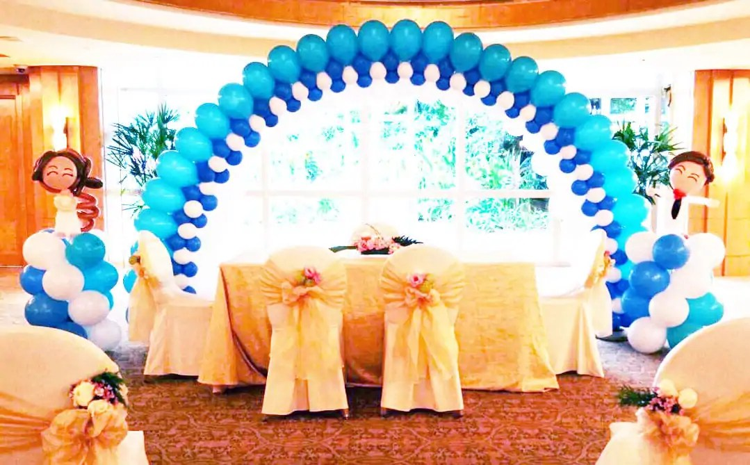 4 Creative Wedding Balloon Decorations For You To Choose