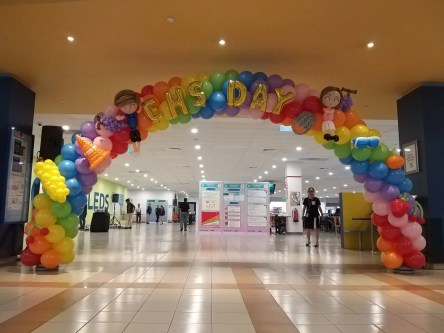 Balloon Decoration for Family Day