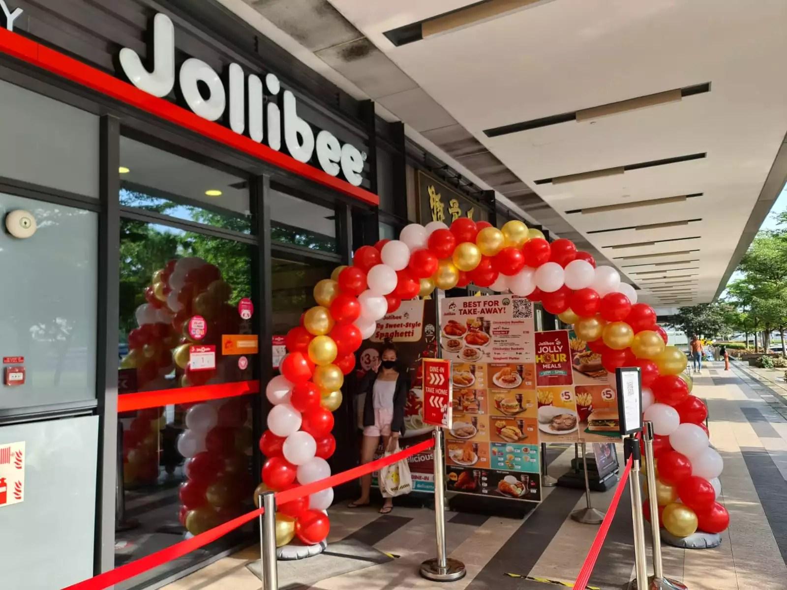 Jollibee Balloon Arch Decoration Promotion