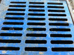 great blue grate