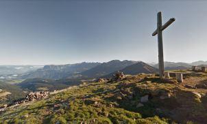 Der Gipfel vom Schwarzhorn