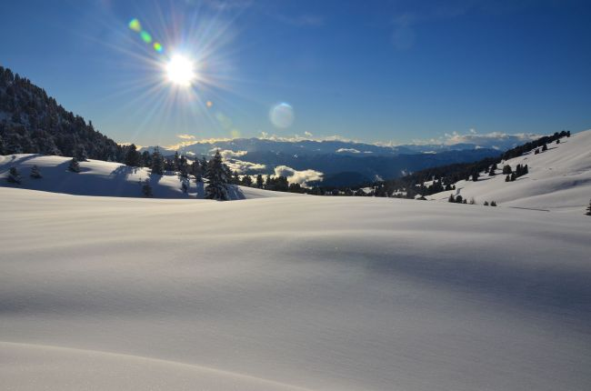 Winter at the Passo Oclini