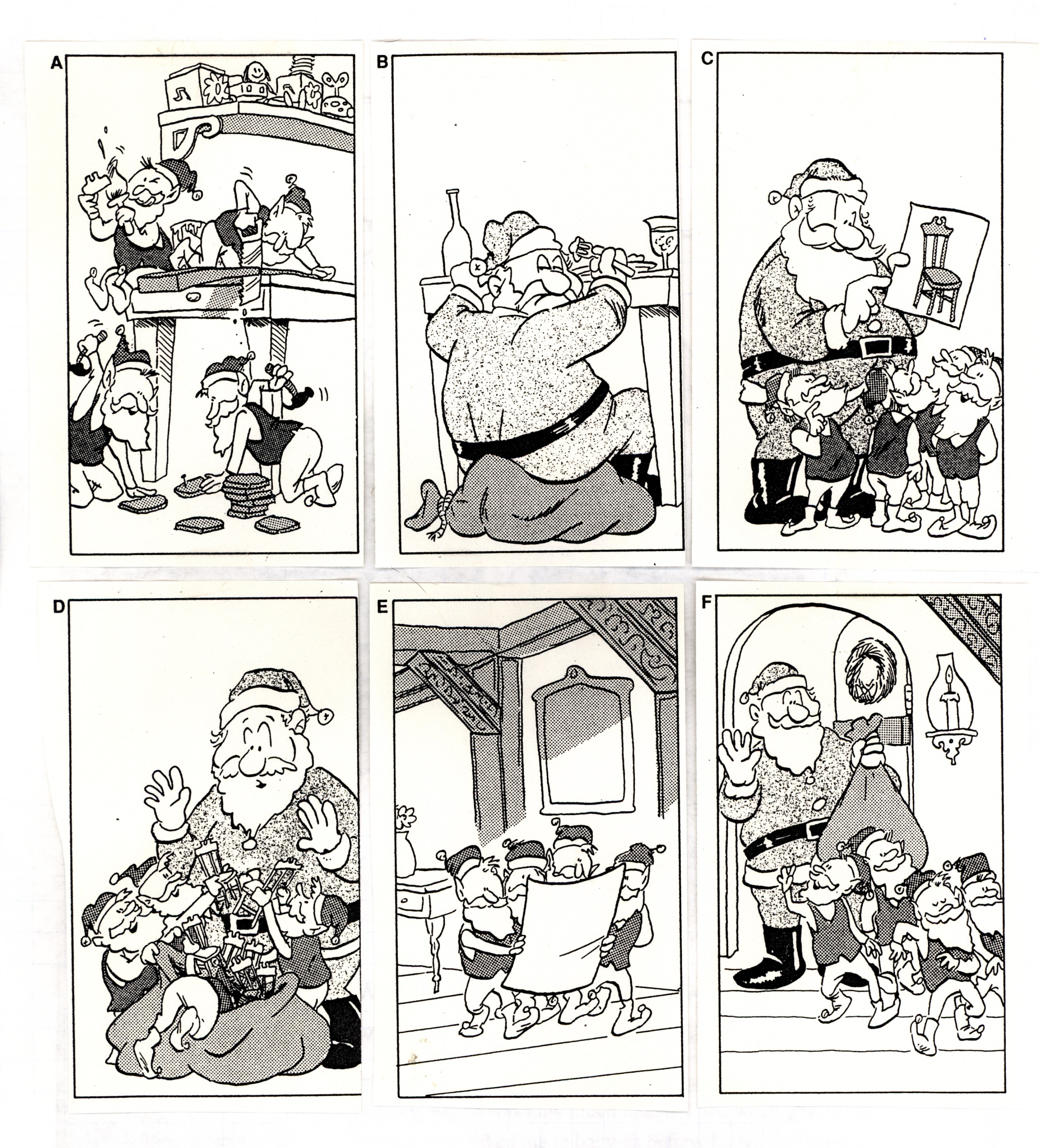 Christmas Cartoon Sequence