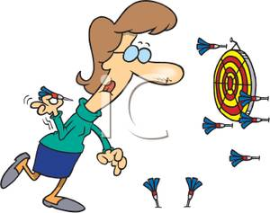 Marketing without a Strategy is throwing darts at a wall without a dart board