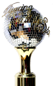 Keep the Goal in Mind - Dancing with the Stars Disco Ball Trophy