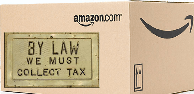 Amazon now collecting sales tax